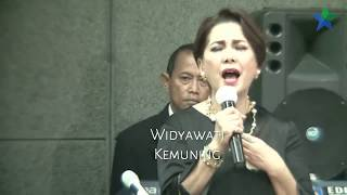 Lagu Kemuning oleh Widyawati pada peluncuran situs web tokoh perfilman Indonesia Sophaan Sophian