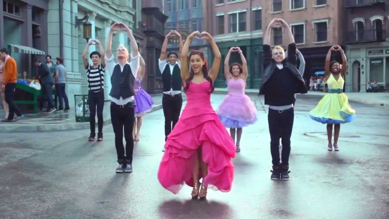 ariana grande put your hearts up official music video