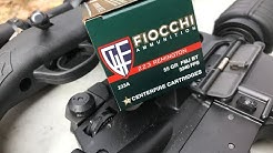 .223 Remington, 55gr FMJ, Fiocchi (223A) Review