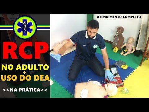RCP NO ADULTO + USO DO DEA (SIMULAÇÃO DE ATENDIMENTO)