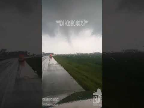 08-16-2017 Nicollet, MN - Tornado Spotted Today Sweeps Across The Highway