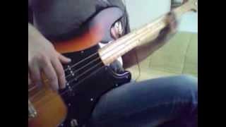 London Calling | The Clash Bass Cover | Epiphone Pbass custom