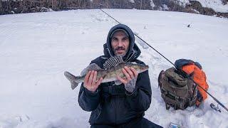 ЗИМНИЙ СПИННИНГ Рыбалка на Москва реке РЫБАЛКА В ПОСЛЕДНИЙ ДЕНЬ ЗИМЫ 2021 В ЧУЛКОВО