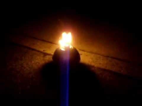 The Original Toledo Torch Smudge Pot Road Hazard Flare