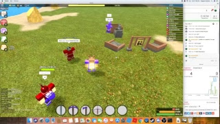 Roblox (Booga Booga) #4 Getting mag from PVP  ( come join!)