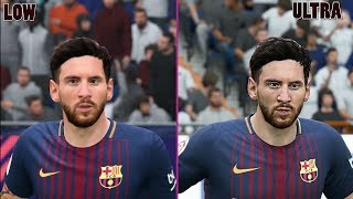 FIFA 18 - 1440P Low vs Ultra Graphics Comparison PC (HD 60 FPS)