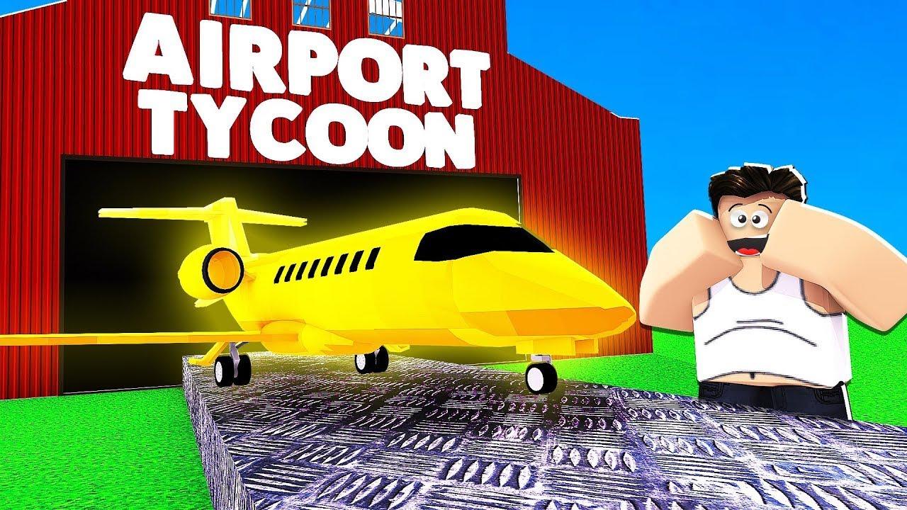 بناء اكبر مطار دولى فى العالم وتجربة الطيارات فى لعبة roblox🔥