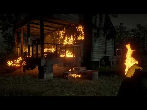Torching A Rapist On His Front Porch |