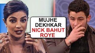 Nick Jonas Cried A Lot Watching Priyanka Chopra's The Sky Is Pink Scene