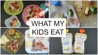 WHAT MY KIDS EAT | TODDLER EDITION #6