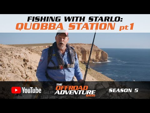 Fishing With Starlo: Land Based Game Fishing At Quobba Station (pt1)