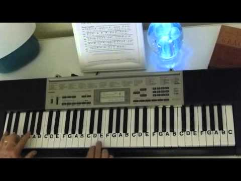 How to Play ~ Darth Vader's Theme ~ Star Wars ~ LetterNotePlayer ©