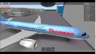 Roblox | Thompson Airways 757 flight