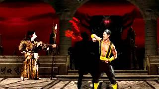Mortal Kombat 2 Bloodstorm Shang Tsung Gameplay Super Threat Match