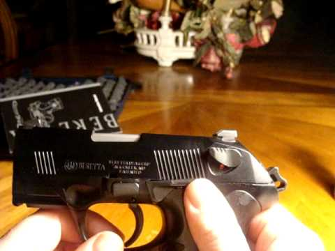 Beretta PX4 Storm Sub-Compact Video Review and field strip.