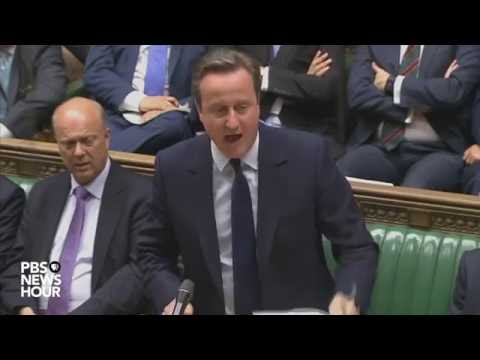 PM  David Cameron Speaks to UK Parliament on Result of Brexit Vote