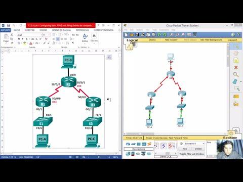 7.3.2.4 Lab - Configuring Basic RIPv2 and RIPng