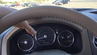 Test driving a Lincoln Mark LT