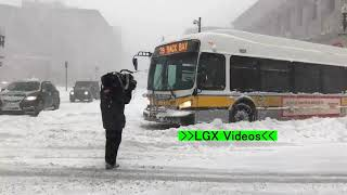 Snowstorms, coastal submersion, snow and cold in Massachusetts Locally up to 43cm were received