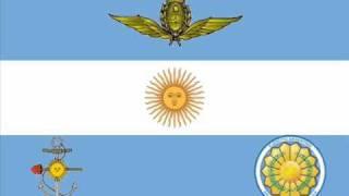 """Marcha Militares Argentinas - """"Trote Granaderos a Caballo"""""""