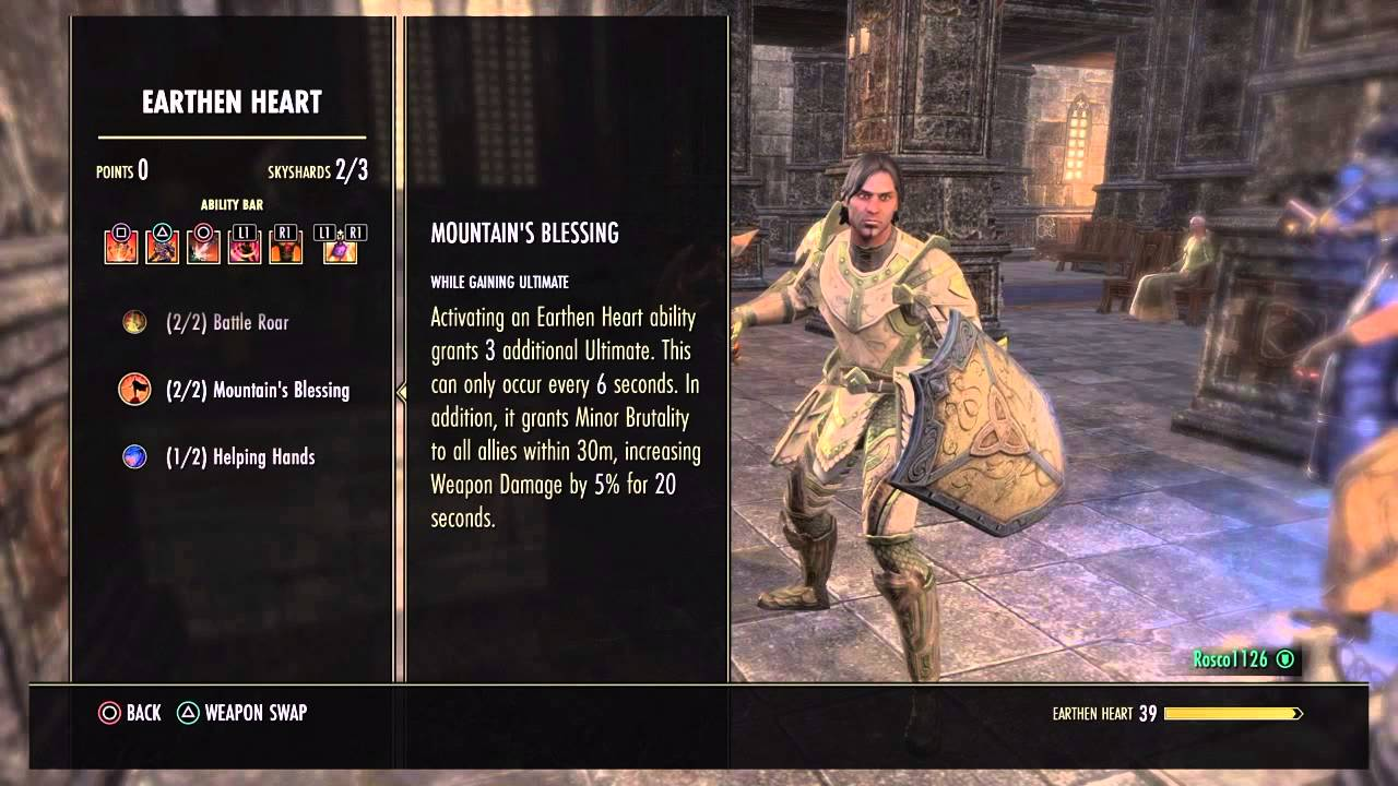 Best Dragonknight Tank Build Eso