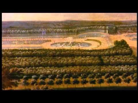 Le plan du château de versailles