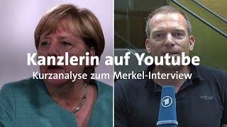 Kurzanalyse: So hat Merkel sich im Youtuber-Interview geschlagen