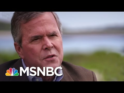 Jeb Bush: Donald Trump Created 'Alternative Universe' | Andrea Mitchell | MSNBC