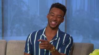 Algee Smith discusses his role as Larry Reed in powerful 'Detroit' film