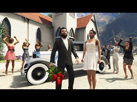GTA 5 Online - Làm Người Tốt, Tổ Chức Đám Cưới Trong GTA V