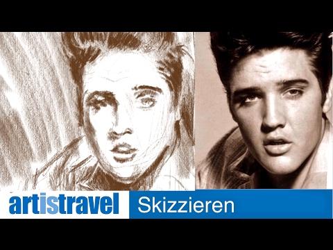 Ganz einfach zeichnen lernen 21: Porträtskizze Teil 1 (iPad)