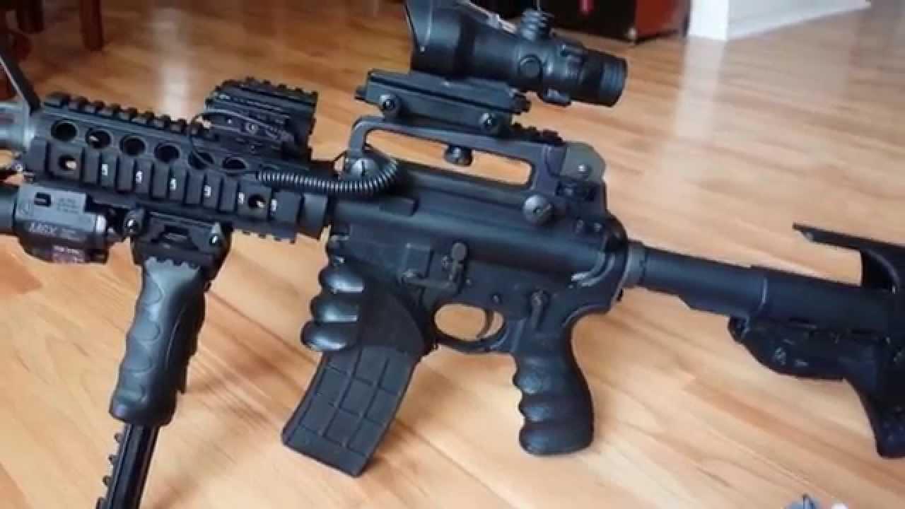 AR 15 Colt M4 Accessories & Colt 1911 Modified