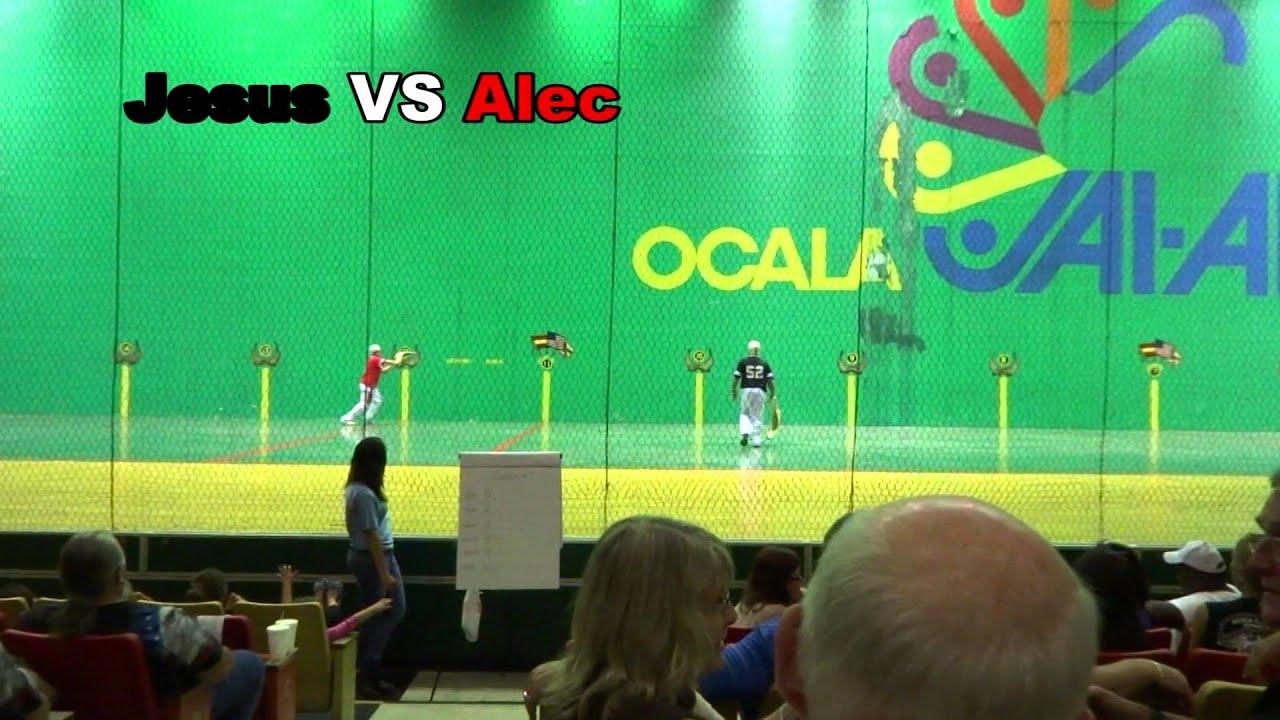 Ocala Jai Alai Amateur Tournament 06 22