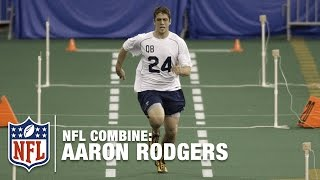 Aaron Rodgers' Impressive 40-Yard Dash (4.71) | 2005 NFL Combine Highlights