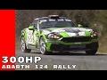 2017 al Rally di Sanremo With Fiat Abarth 124 Rally