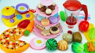 Kitchen Cook Toy | TOY CUTTING Fruits & Veggie | Kids Toys | ABC Toys