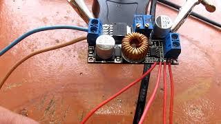 видео Импульсная зарядка для литий-ионных аккумуляторов (без микропроцессора)
