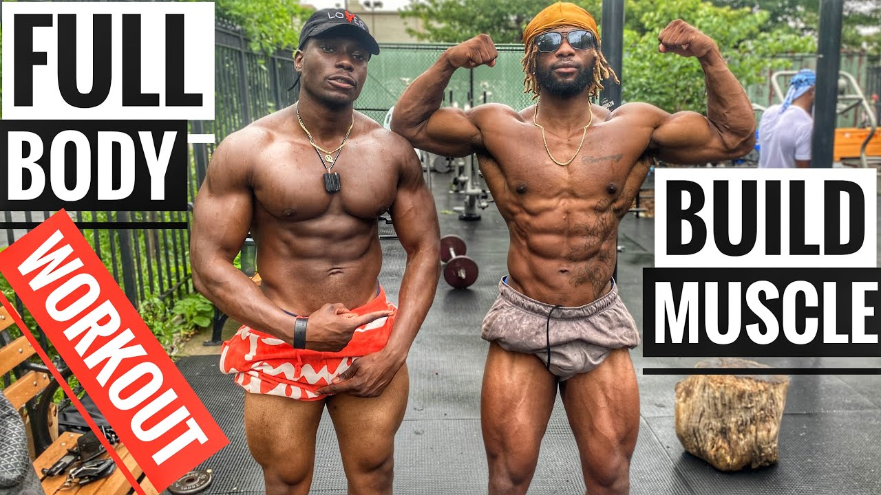 Full Body Workout for Muscle Building | Ft @Muscle Memory Fitness