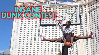 CRAZY Dunk Contest! #Vegas3on3 Feat Remix, Chris Staples, JClark, Dallon and Chase!
