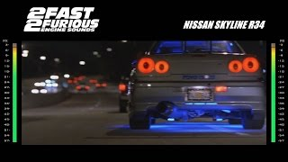 2 Fast 2 Furious: Engine Sounds - Nissan Skyline