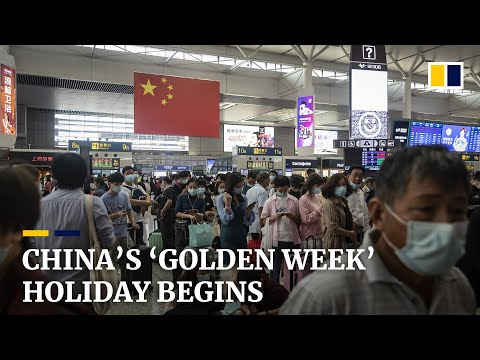 Millions travel as National Day opens 'golden week', China's first big holiday since Covid-19