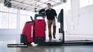 Toyota-Raymond 8510 Center Rider Electric Pallet Jack