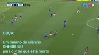 Geral do Grêmio calando o beira rio - Grenal no aterro