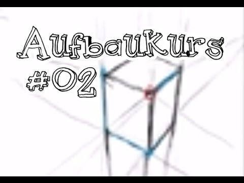 Aufbaukurs #02: Die Perspektive [Zeichnen lernen]