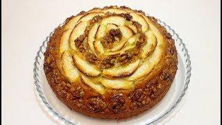 """ПИРОГ """"ЯБЛОЧНАЯ РОЗА"""" (""""apple rose"""" cake)"""