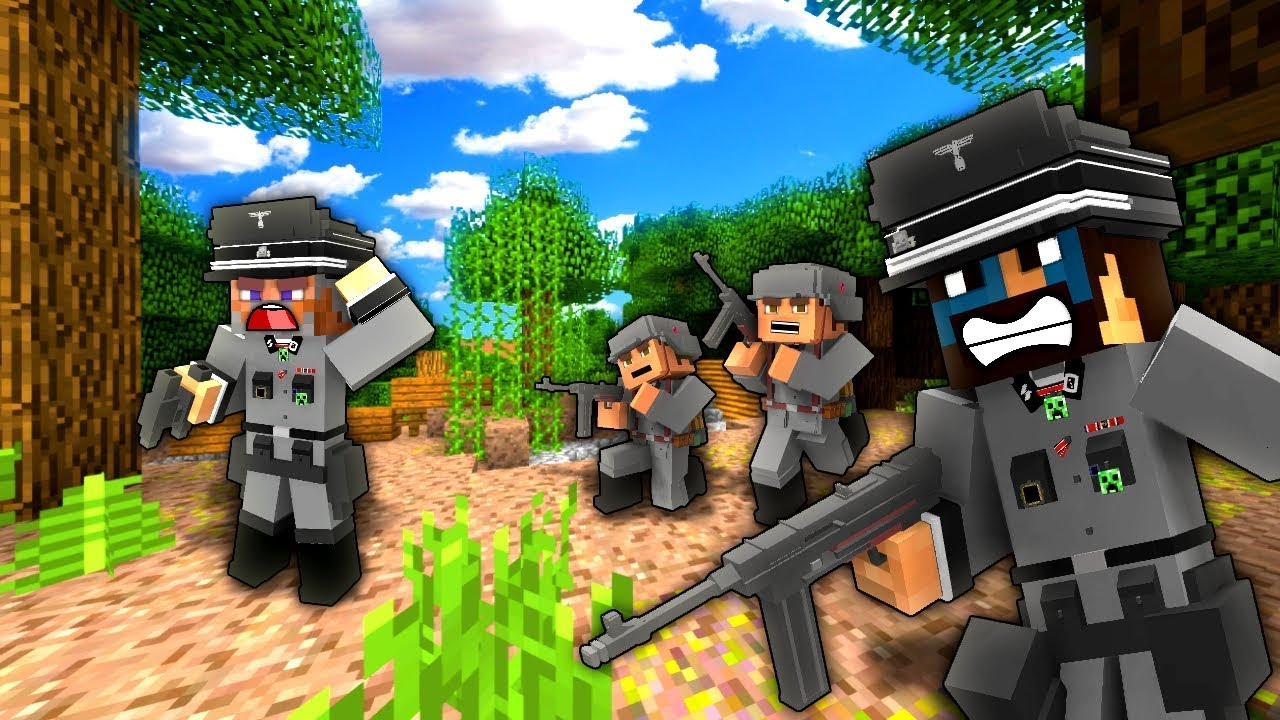 FIGHT FOR NORMANDY! - Minecraft - Call to Battle