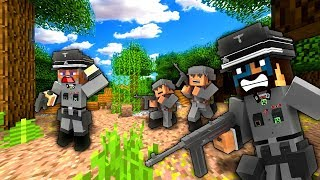 FIGHT FOR NORMANDY! - Minecraft WW2 (Call to Battle Mod Gameplay)
