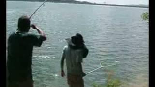 ตกปลาตะเพียนใหญ่-เขื่อนขุนด่าน Fishing  (Java barb, Silver barb)