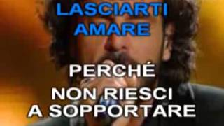 Francesco Renga - A un isolato da te - KARAOKE