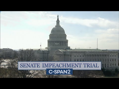U.S. Senate Impeachment Trial of Former President Trump (Day 3)
